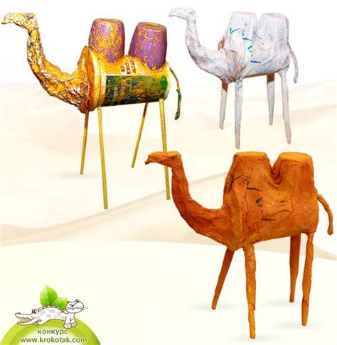 camel crafts for krokotak a camel in the desert
