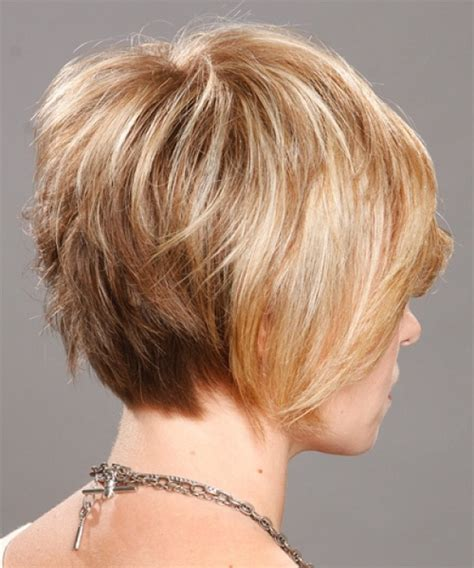 bob layered hairstyles front and back view short fine hair bob back view