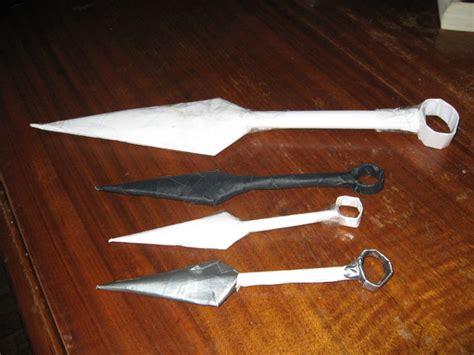 how to make origami kunai origami kunai knife