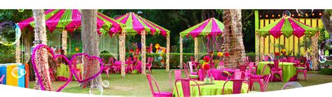Garden Accessories Mumbai National Decorators India Wedding Decorators From
