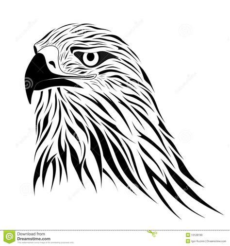 hawk tattoo stock vector image of hawk claws bird