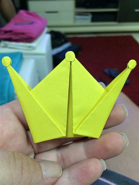 crown origami 17 best images about origami y objetos en papel on