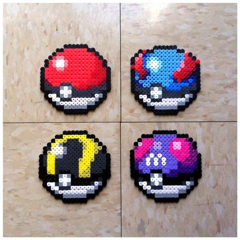 perler pokeball 253 best images about hama on