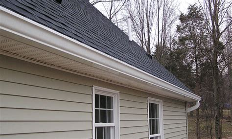 how to put gutters on a house 6 inch oversized seamless gutters