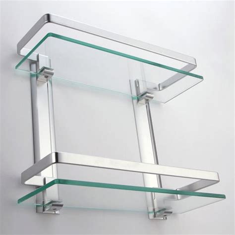 small glass bathroom shelves small glass shelves wall mount best decor things