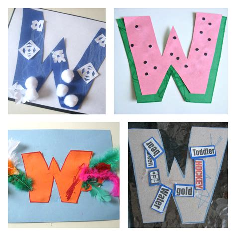 and crafts activities letter of the week w crafts and activities no time for