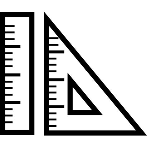 drawing tool with measurements measuring and drawing tools icons free