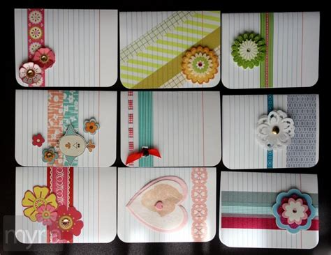 craft projects with creative craft projects to make with basic lined index