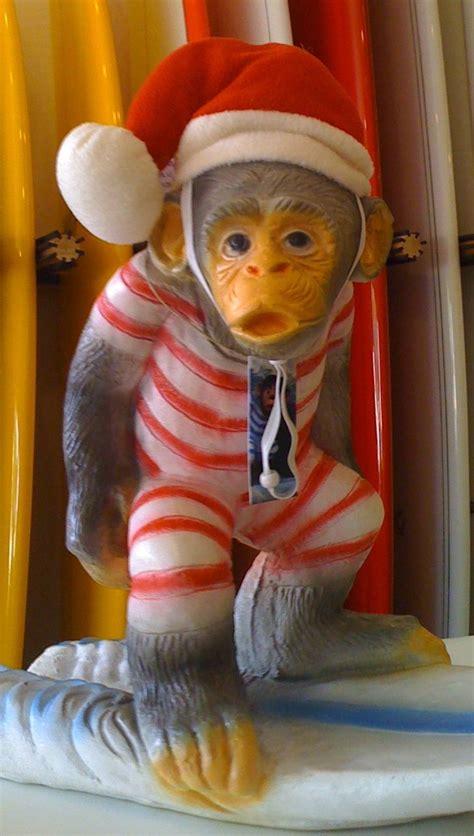 monkey santa what s your tree surf monkey fellowship