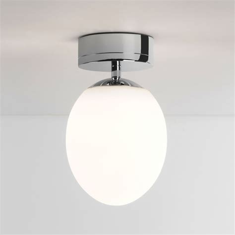bathroom lighting ceiling astro kiwi ip44 led bathroom ceiling light in chrome