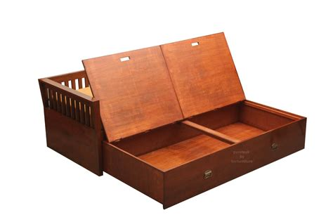 wooden sofa bed with storage wooden sofa bed with storage my
