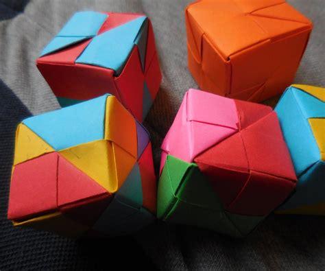 modular cube origami multi purpose modular origami cube for complete beginners