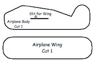 templates for children to make styrofoam airplane craft airplanes transportation and craft