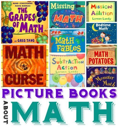 math picture books math picture books for ages 3 10 ten