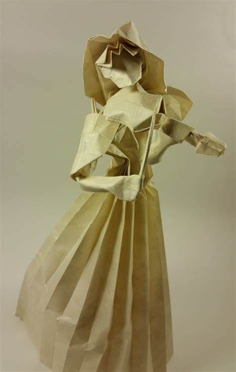 origami violinist this week in origami july 24 2015 edition