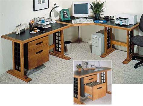woodworking plans computer desk computer desk woodworking plan from wood magazine