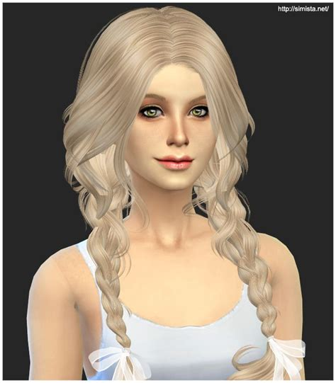 custom contant hair in the sims 4 sims 4 custom hair this hair is super adorable i just