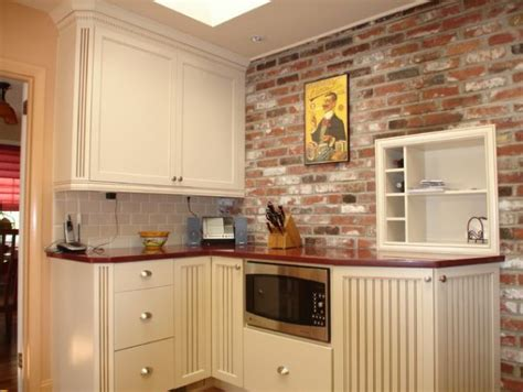 backsplash for kitchen walls kitchen brick backsplashes for warm and inviting cooking