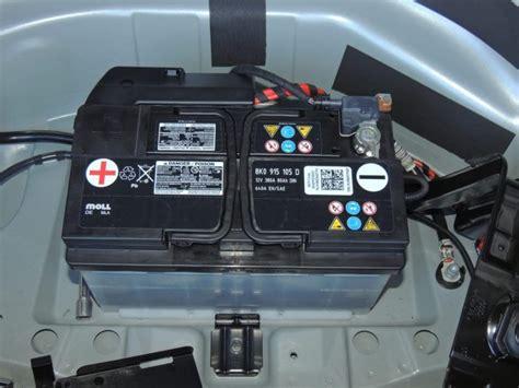 Audi Car Battery by Battery Help Audiworld Forums