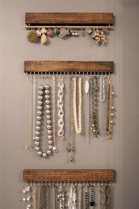 how to make jewelry hanger best 25 jewelry hanger ideas on jewelry