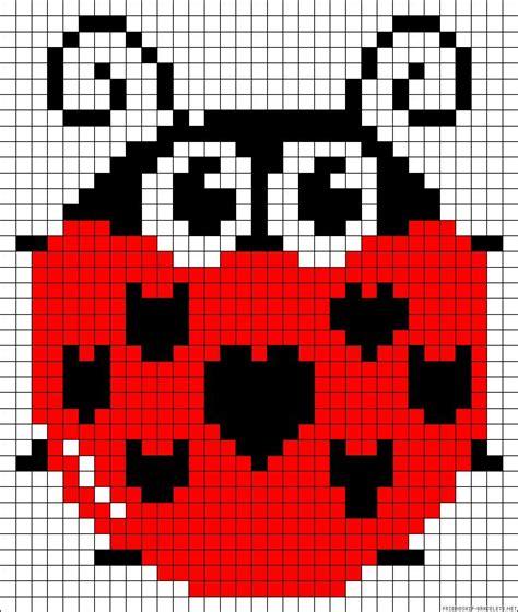 beaded ladybug pattern ladybug perler bead pattern perler