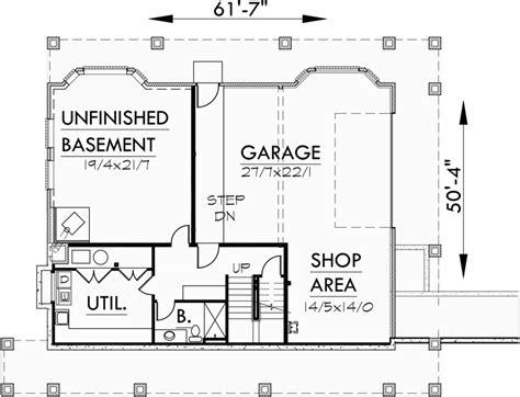 daylight basement plans brick house plans daylight basement house plans
