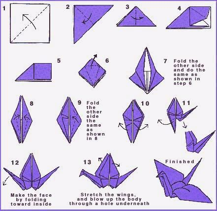 origami pattern origami peace crane directions world peace