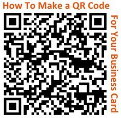1000 Ideas About Qr Code Business Card On