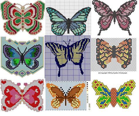 bead weaving patterns butterfly bead weaving patterns beading patterns and