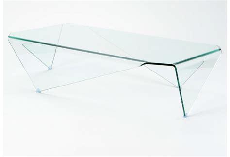 table basse moderne en verre rectangulaire amadeus amadeus 19751