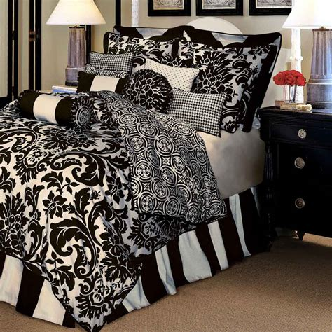 white and black bed set black and white bedspreads and comforters feel the home