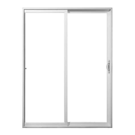 jeld wen sliding patio doors jeld wen 72 in x 80 in white vinyl right sliding