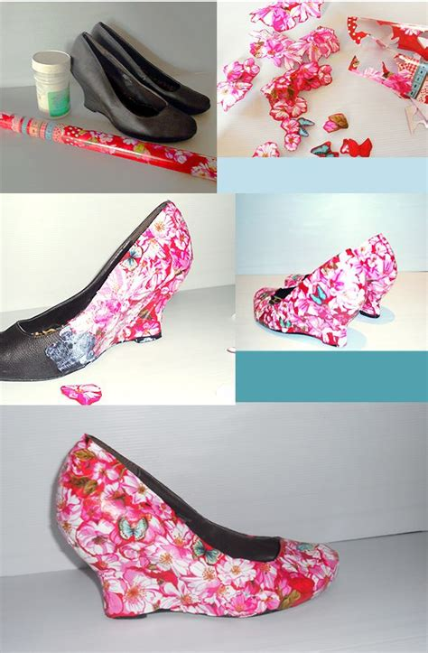 decoupage shoes with paper 25 best ideas about decoupage shoes on diy