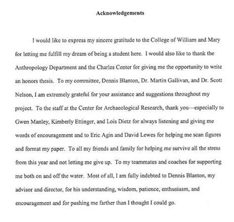 dissertation acknowledgements examples uk sample master thesis acknowledgement