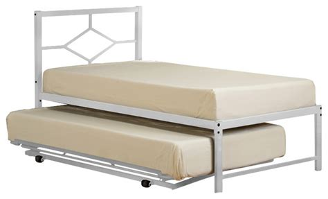 white metal trundle bed frame white metal trundle bed frame 28 images metal trundle