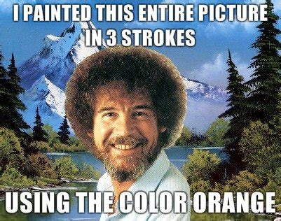 bob ross painting happy trees happy clouds canilearntopaint