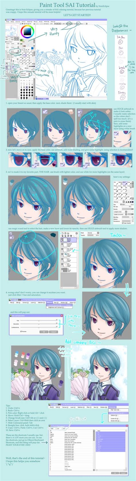 tutorial coloring di paint tool sai paint tool sai tutorial by noireclipse on deviantart