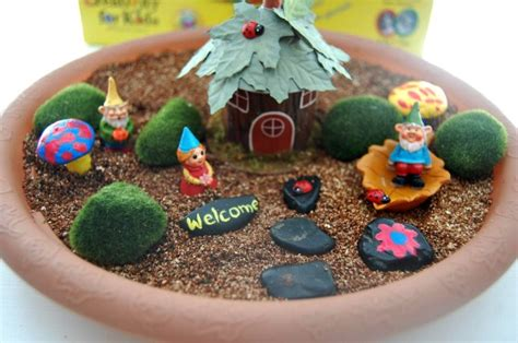 and crafts at home diy gnome garden arts and crafts with a