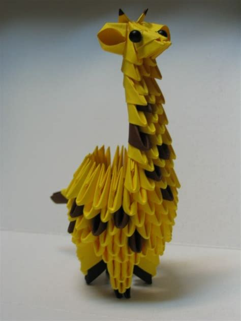 Giraffe For Marek 3d Origami