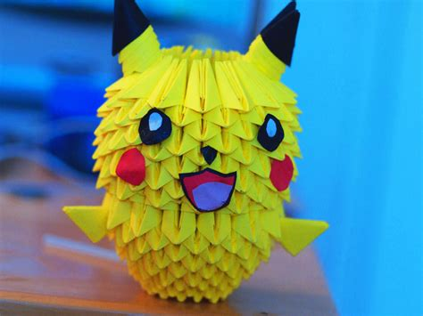 how to make a 3d origami pikachu 3d origami pikachu by gracy2227 on deviantart