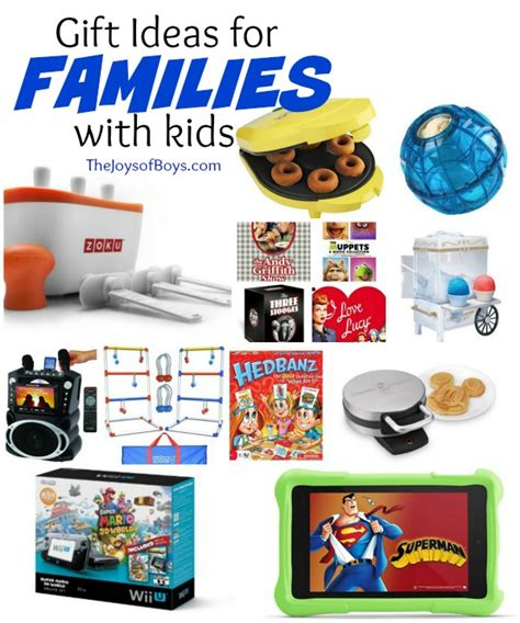 family gifts ideas gift ideas for families with the joys of boys