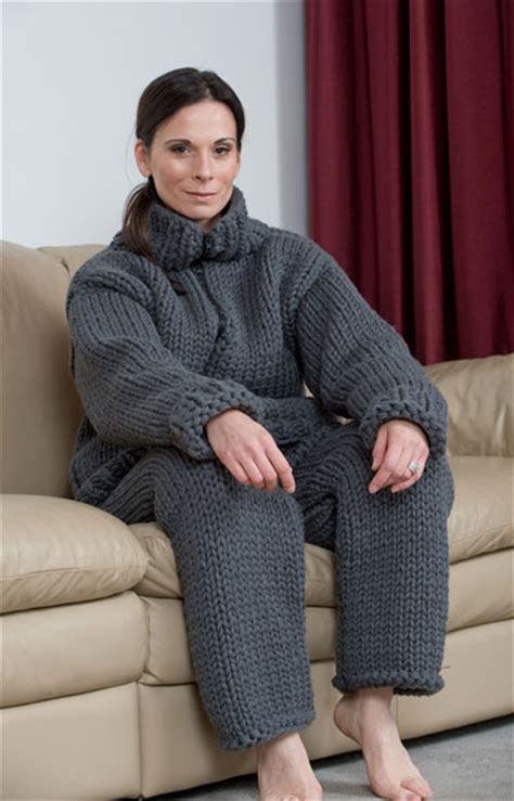 knitted suit knitted sweater onesie