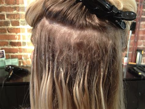 hair extensions shrink links hair extensions one stylists quest to