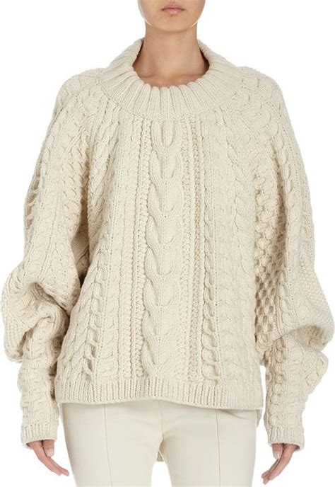 thick cable knit sweater thick cable knit jumper crochet and knit