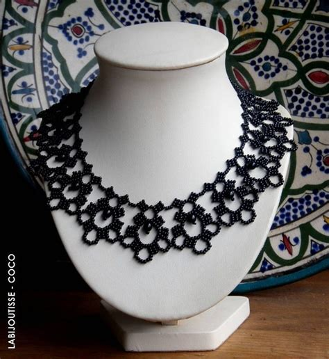 beaded choker necklace patterns 1000 images about beaded necklace patterns on