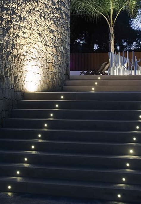 outdoor step lighting 30 astonishing step lighting ideas for outdoor space