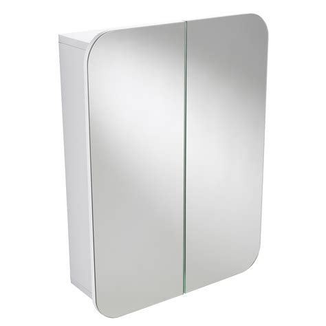 White Mirrored Bathroom Cabinet by Buy Wall Mounted White Quot Denham Quot Door Bathroom