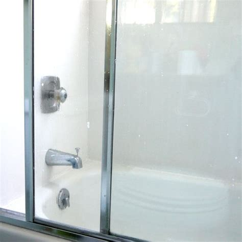 cleaning water stains glass shower doors water stains water and water stains on
