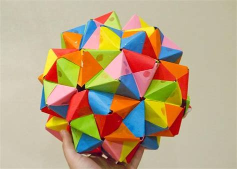 modular origami icosahedron modular origami how to make a truncated icosahedron