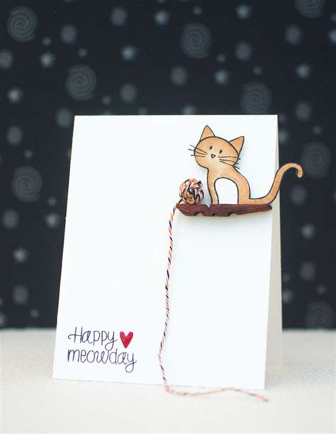 How To Cat Greeting Card